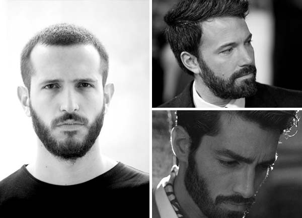 Mens Short Boxed Beard Style