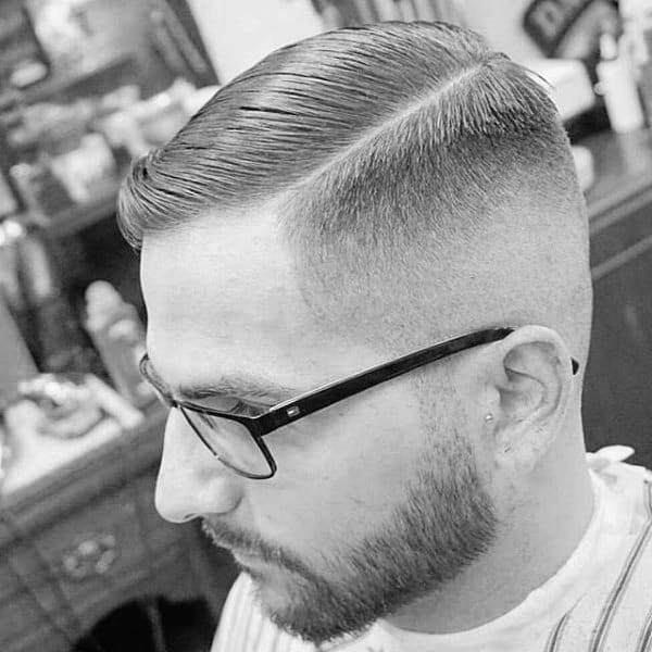 Mens Short Hair Fade On Sides