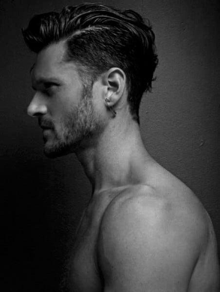 Men's Short Side Haircut