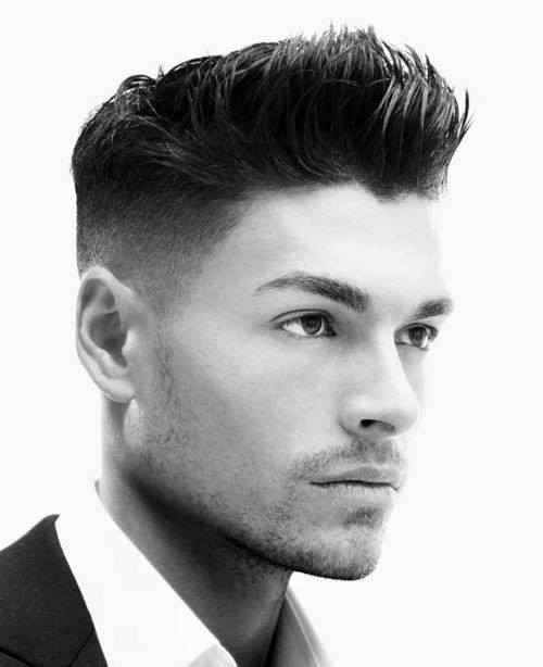 Men's Short Spiky Hairstyles