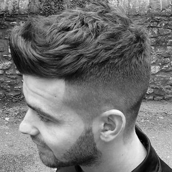 Mens Short To Medium Hairstyles For Wavy Hair
