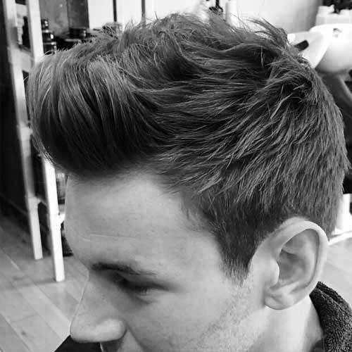 Men's Short Spiky Haircuts For Fine Hair