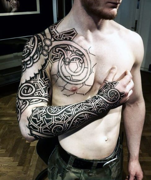 Men's Shoulder Tattoo Designs