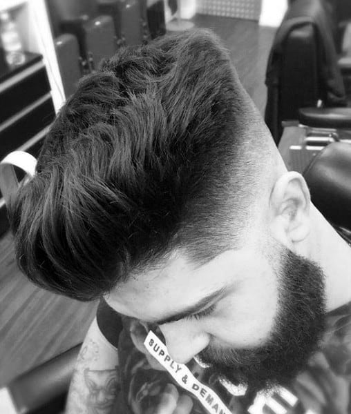 Mens Skin Fade Hair Cut