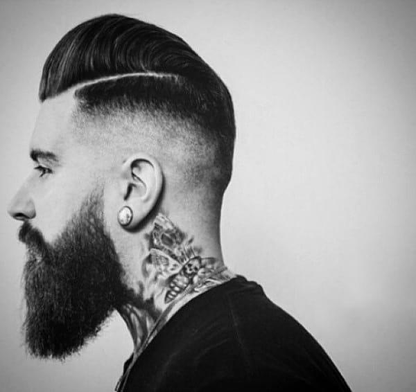 Mens Skin Tight Fade Haircut
