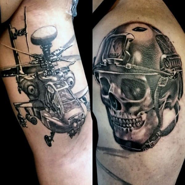 90 Army Tattoos For Men - Manly Armed Forces Design Ideas