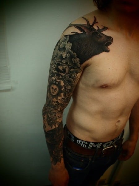 Top 50 best tattoo ideas and designs for men next luxury for Male sleeve tattoo ideas