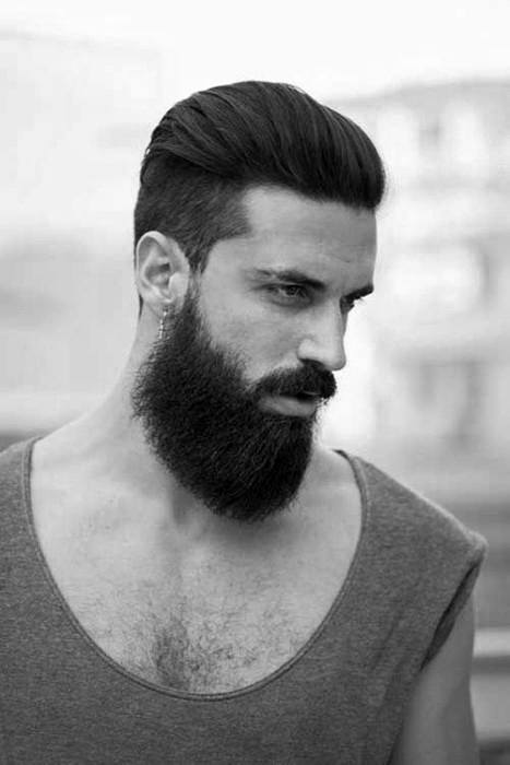 Mens Slick Back Hair