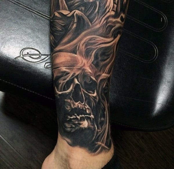 Smoke Skull Tattoos 60 Detailed Tattoos Fo...