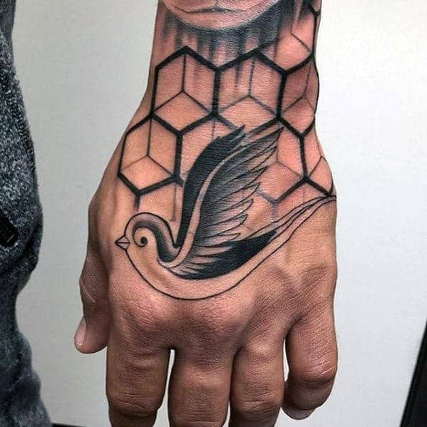 mens-sparrow-bird-geometric-traditional-hand-tattoo