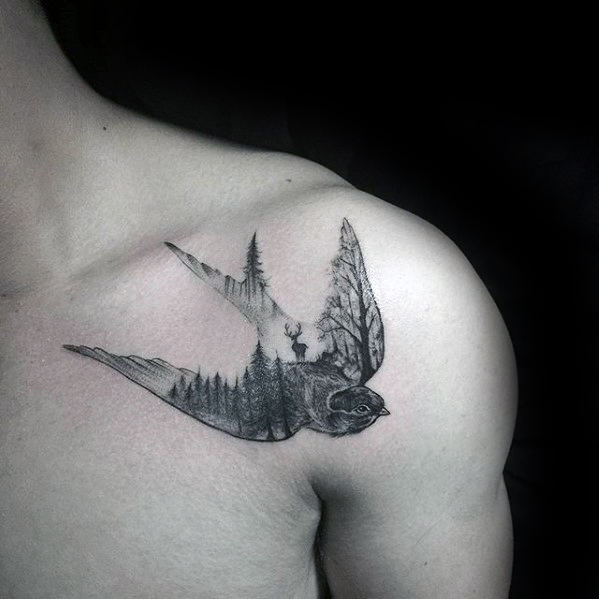 60 Small Tree Tattoos For Men 2020 Inspiration Guide