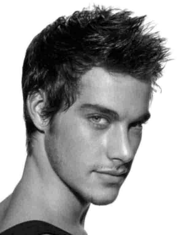 Men's Spiky Hairstyle Ideas