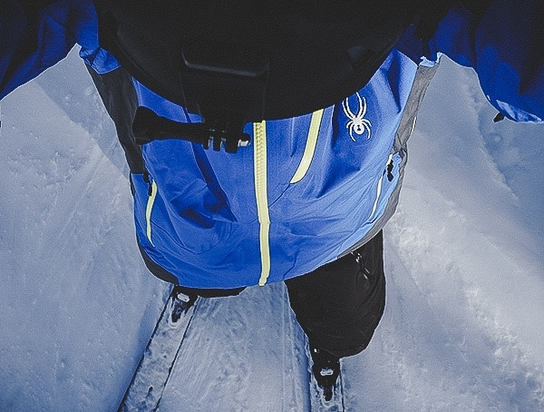 Mens Spyder Eiger Gtx Shell Jacket Review Skiing Outdoors