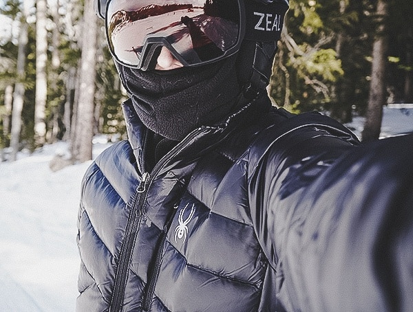 Mens Spyder Syrround Down Ski Jacket Review Outdoors On Sloeps