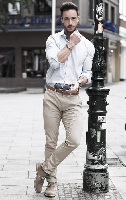 Mens Style Ideas What To Wear With Khaki Pants Outfits