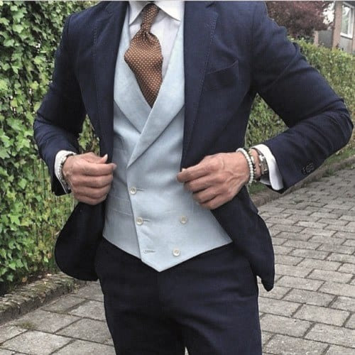Mens Style Navy Blue Suit Fashion Inspiration