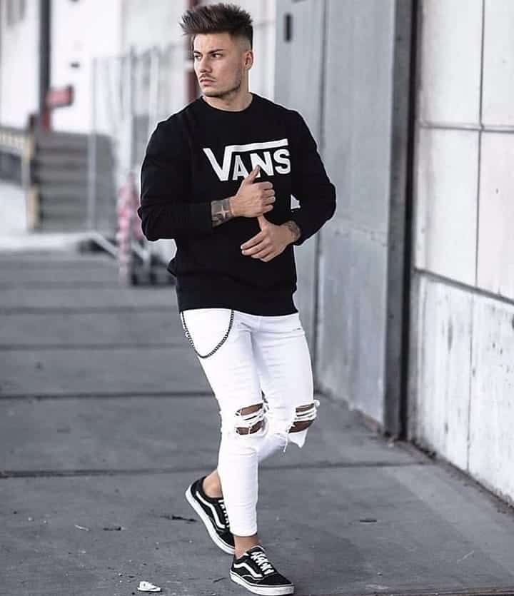 Mens Style Street Wear