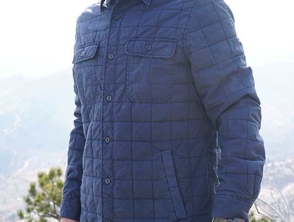 Mens Style Ugg Trent Quilted Shirt Jacket