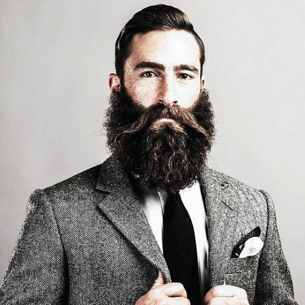Mens Stylish Cool Beard Trimmed Ideas