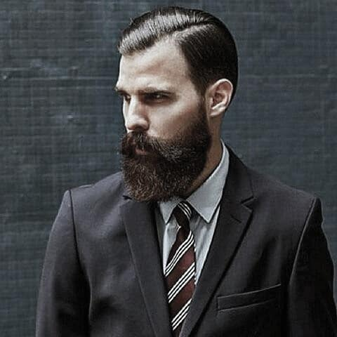 Mens Stylish Great Beard Trimmed Ideas