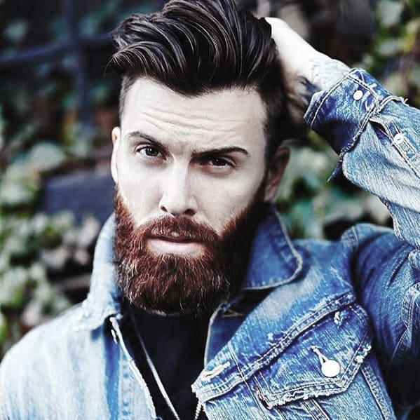 Mens Stylish Nice Beard Trimmed Ideas