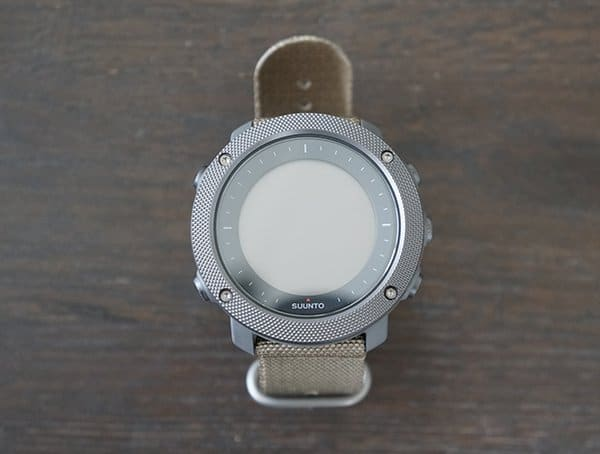 Mens Suunto Traverse Alpha Watch Case Front