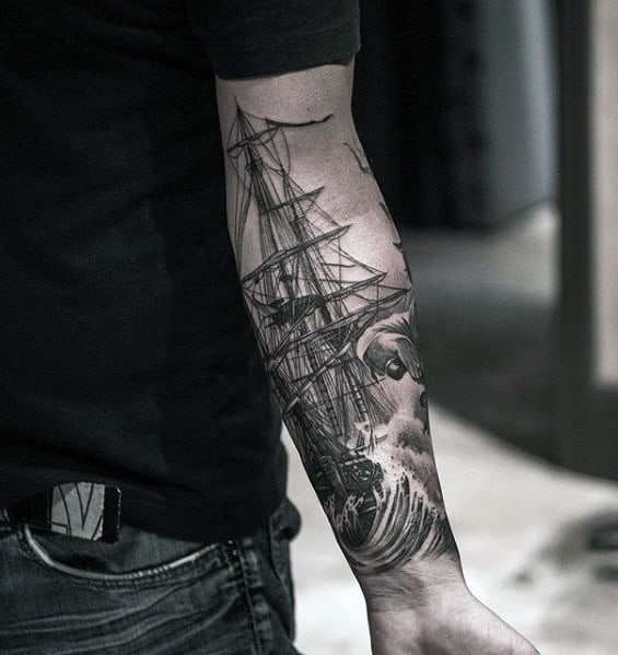 75 sweet tattoos for men cool manly design ideas for Cool forearm tattoos