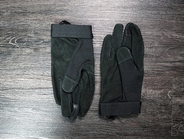 Mens Tactical Gloves Vertx Fr Breacher Black