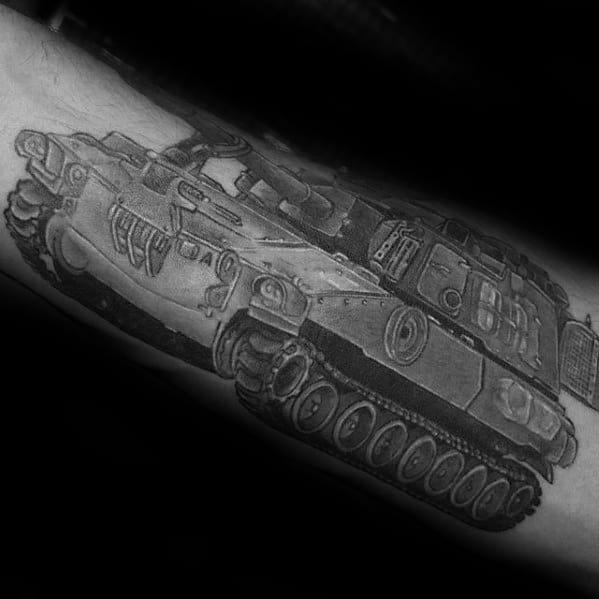 Mens Tank Tattoo Ideas