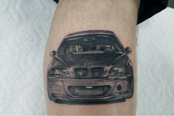 Mens Tattoo Designs Bmw Themed