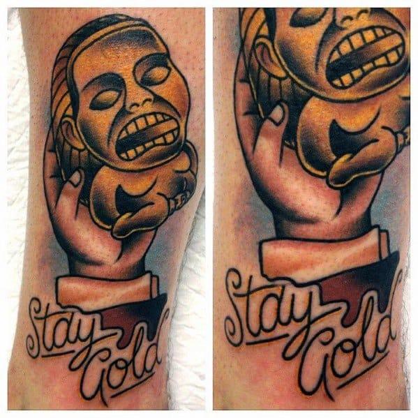 Mens Tattoo Designs Indiana Jones Themed