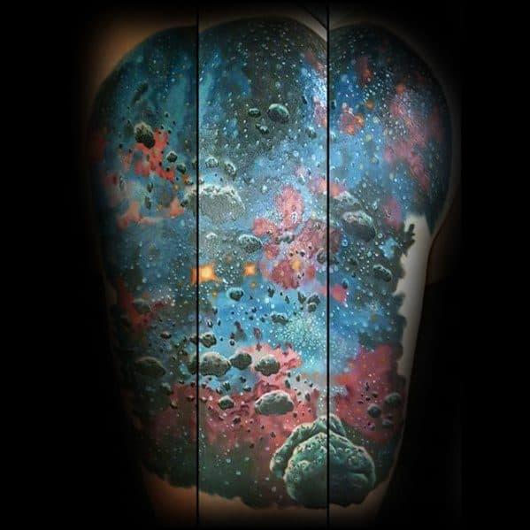 60 nebula tattoo designs for men