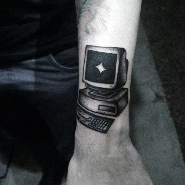 Mens Tattoo Ideas With Computer Design