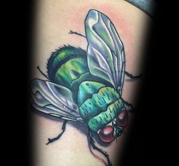 Mens Tattoo Ideas With Fly Design