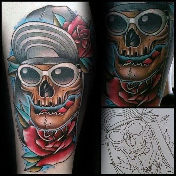 Mens Tattoo Ideas With Nirvana Design