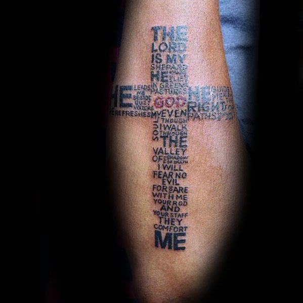 Tattoo Text Ideas: 60 Typography Tattoos For Men