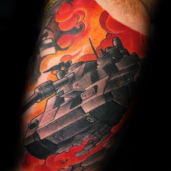 Mens Tattoo Tank Design