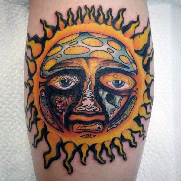 Mens Tattoo With Sublime Design