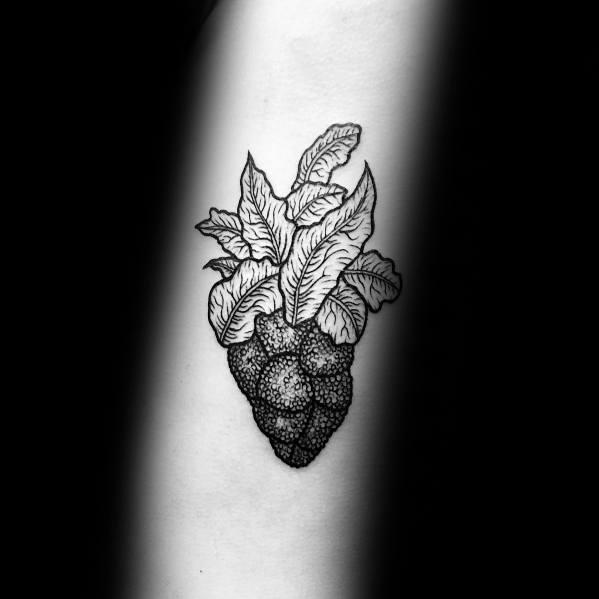 Mens Tattoos Broccoli