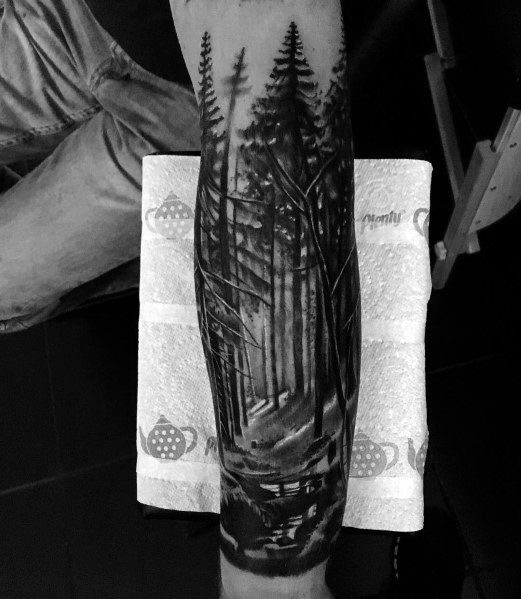 Mens Tattoos Cool Tree