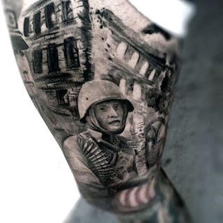 Men's Tattoos For Military