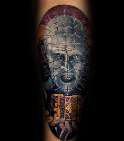 Mens Tattoos Hellraiser