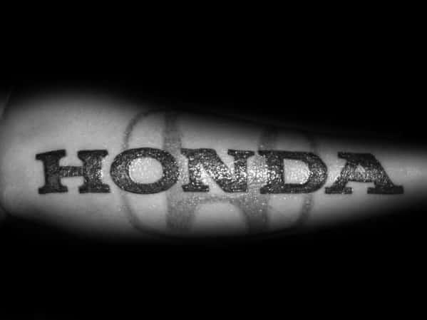 Mens Tattoos Honda