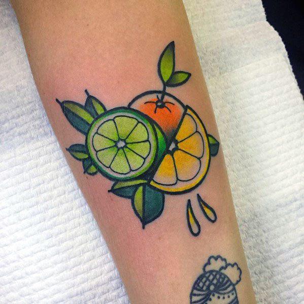 Mens Tattoos Lime