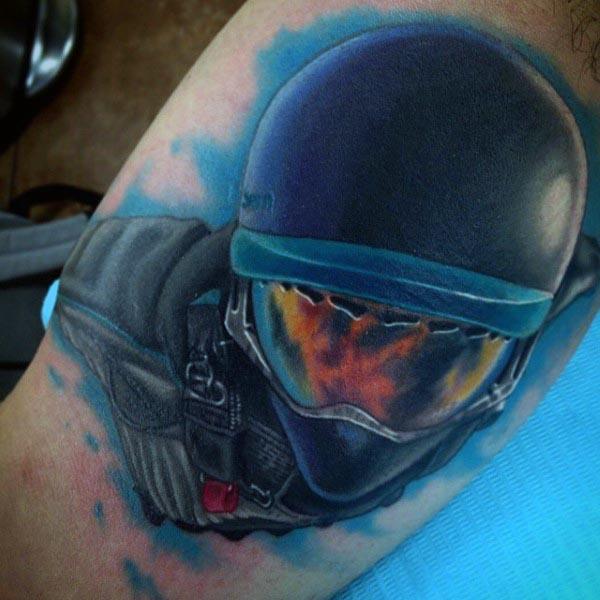 Men's Tattoos On Biceps