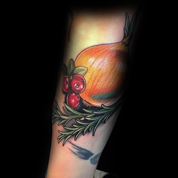 Mens Tattoos Onion