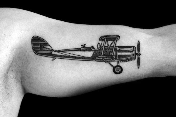 Mens Tattoos Propeller