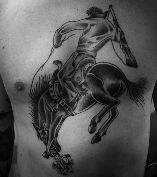 Mens Tattoos Rodeo