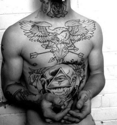 Men's Tattoos With Birds