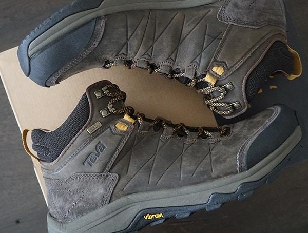 Mens Teva Arrowood Riva Wp Shoes With Nylon Shank